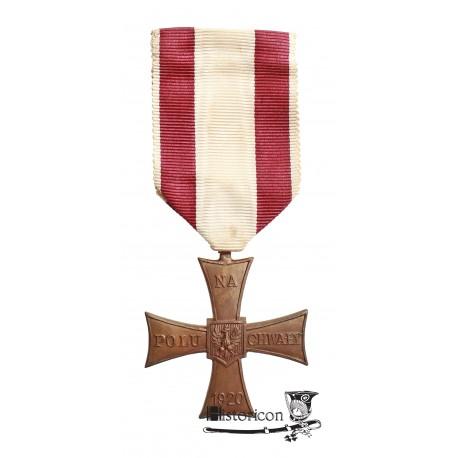 Krzyż Walecznych - pierwsza brytyjska wersja