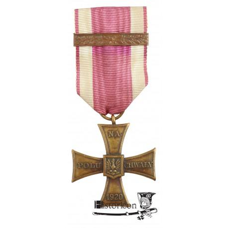 Krzyż Walecznych z nakładkami