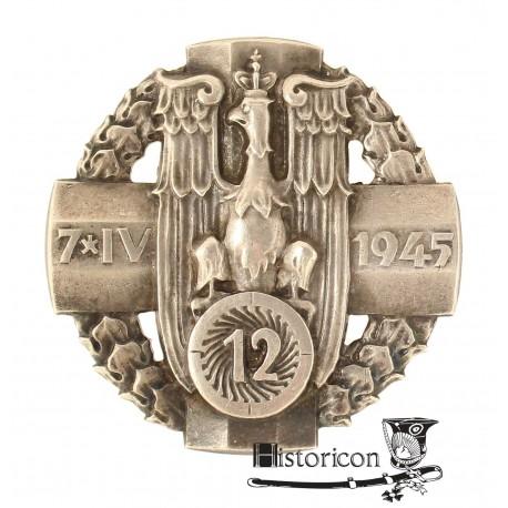 [1.7] Odznaka 12 Pułku Artylerii Ciężkiej