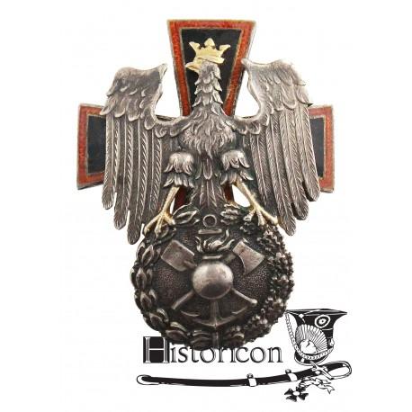 Odznaka Szkoły Podchorążych Saperów