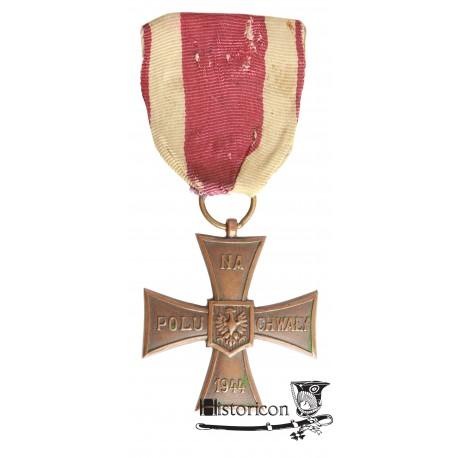 Krzyż Walecznych z datą 1944