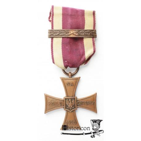 Krzyż Walecznych Knedler - numer 3071