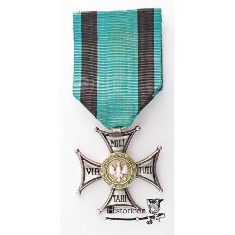 Virtuti Militari, bardzo rzadkie wykonanie grawerskie