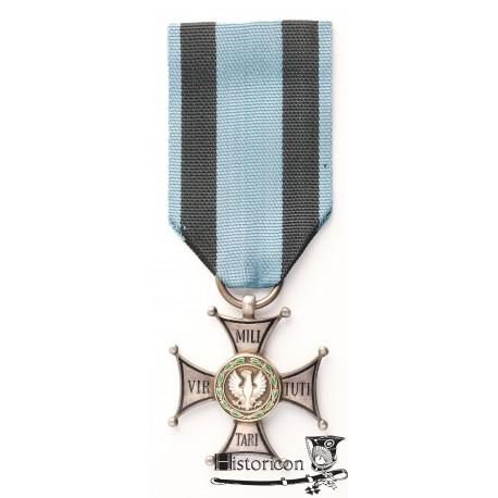 Virtuti Militari - lata sześćdziesiąte, srebro