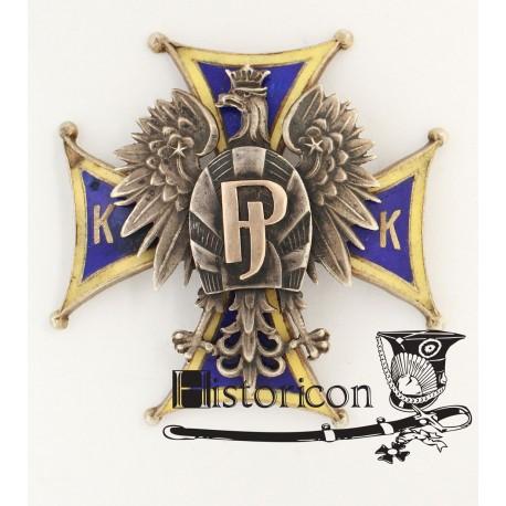 Odznaka Korpusu Kadetów - wersja instruktorska