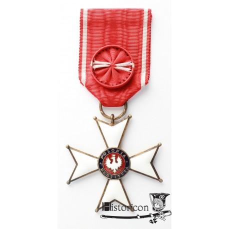 Krzyż Orderu Odrodzenia Polski IV klasy - Gontarczyk