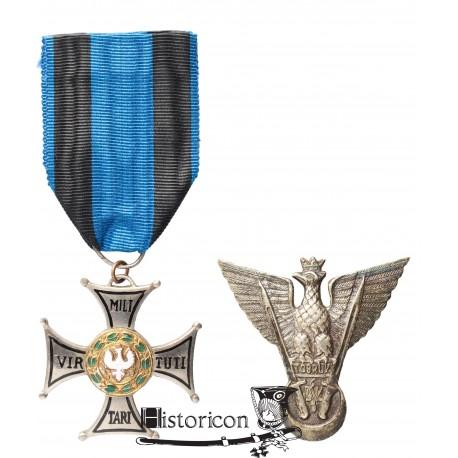 VM Spink oraz odznaka Tobruk, nadane na to samo nazwisko