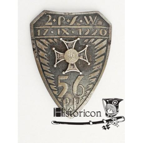 Odznaka 56 Pułku Piechoty
