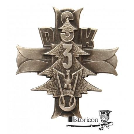 Odznaka 3 Dywizji Strzelców Karpackich