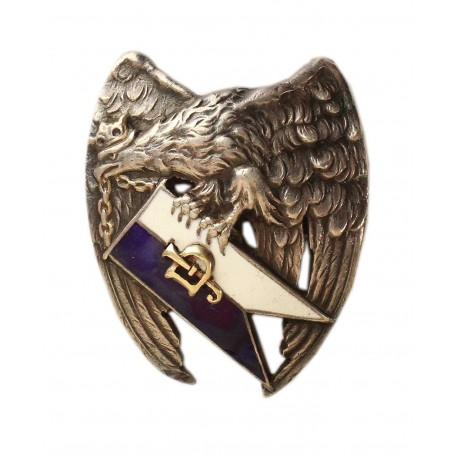 Odznaka 2 Pułku Ułanów Grochowskich